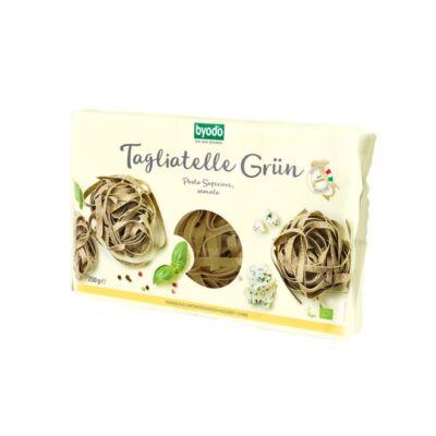 Byodo Bio Tagliatelle, zöld semola 250g