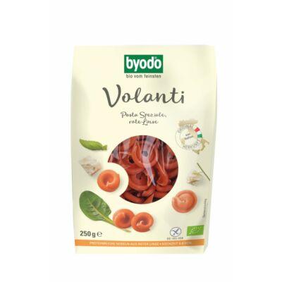 Byodo Bio Volanti, vörös lencse tészta  - gluténmentes 250g