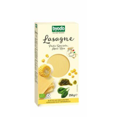 Byodo Bio Lasagne, kukorica- és rízstészta  - gluténmentes 250g