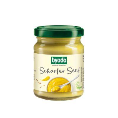 Byodo Bio Extra erős mustár 125ml