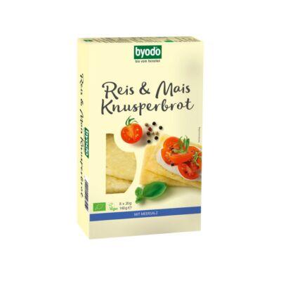 Byodo Bio kukorica & rizs kenyérlapok 160g