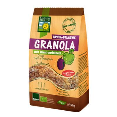 Bohlsener Mühle Bio Almás-szilvás pirított Granola müzli 350g