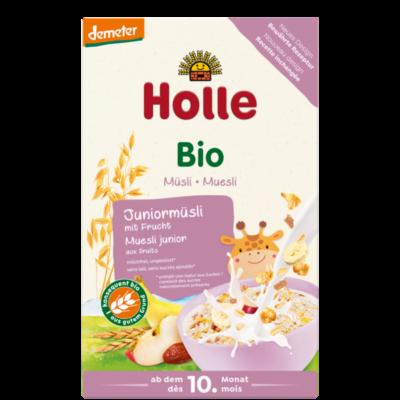 Holle Bio Többmagvas Junior müzli gyümölccsel - Demeter 250g