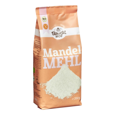 Bauckhof Bio Mandulaliszt - gluténmentes 200g