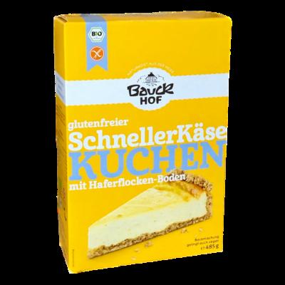 Bauckhof Bio Gyors sajttorta keverék - gluténmentes 485g