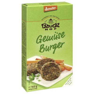 Zöldség burger keverék - vegetáriánus