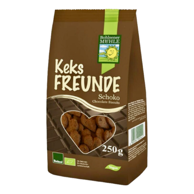 Bohlsener Mühle Bio Barátság keksz, csokis 250g
