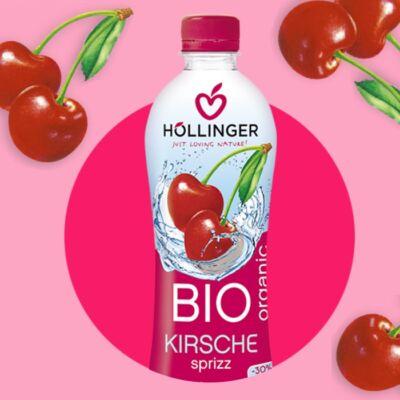 Höllinger Bio Cseresznye-fröccs 500 ml