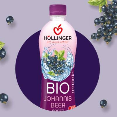 Höllinger Bio Ribizli-fröccs 500 ml