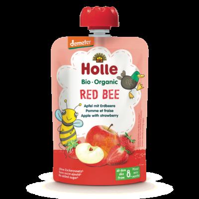Holle Bio Red Bee - Tasak alma eperrel 100g