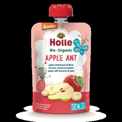 Holle Bio Apple Ant - Tasak alma, banán körtével 100g