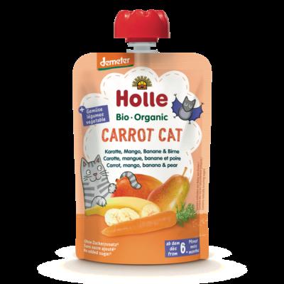 Holle Bio Cat Carrot - Tasak sárgarépa, mangó, banán és körte