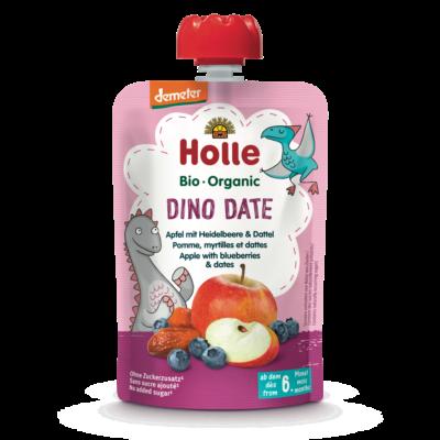 Holle Bio Dino Date - Tasak Alma áfonyával és datolyával 100g