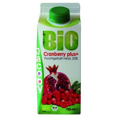 Cranberry plusz min. 25%gyümölcstart. 750ml