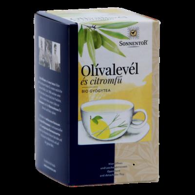 Sonnentor Bio Olívalevél és citromfű - filteres 32,4 g