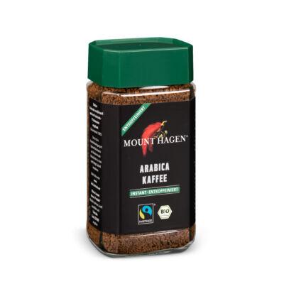 Mount Hagen bio Arabica kávé FairTrade koffeinmentes instant 100g