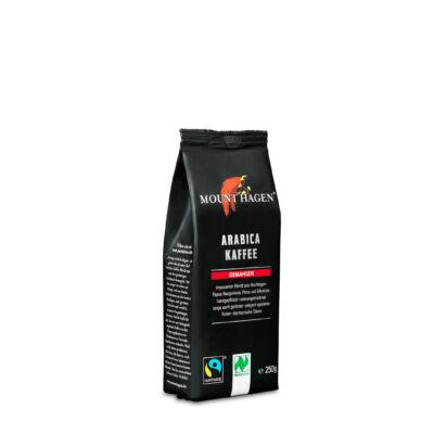 Mount Hagen bio pörkölt kávé, FairTrade őrölt 250g