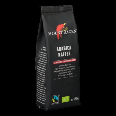 Mount Hagen Bio Koffeinmentes arabica kávé, őrölt - Fairtrade 250g