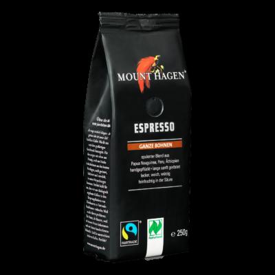 Mount Hagen bio Espresso kávé szemes 250g