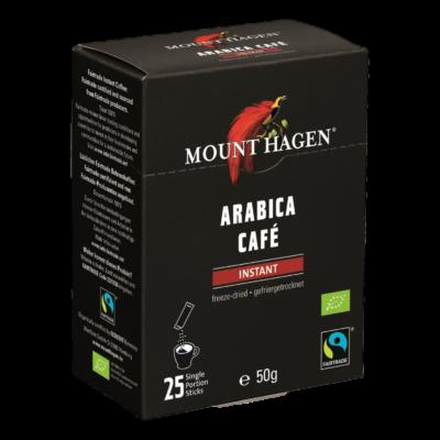Mount Hagen Bio Instant kávé adagok 25 x 2g
