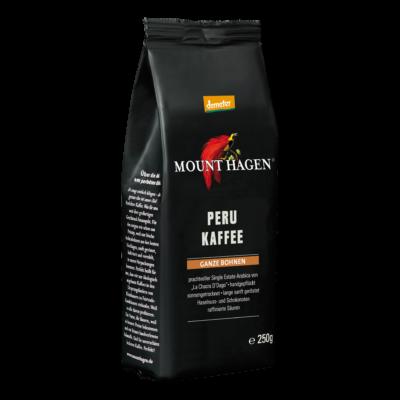 Mount Hagen Bio Perui kávé, szemes - Demeter 250g