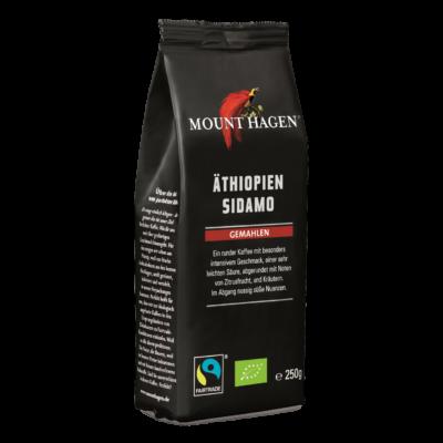 Mount Hagen Bio Etióp kávé, őrölt - Fairtrade 250g