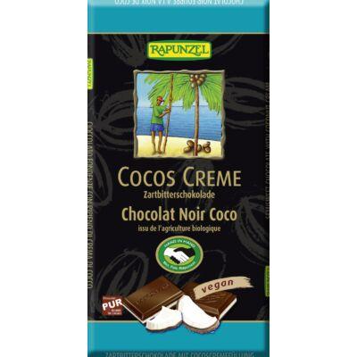 Rapunzel Rizstejes kókuszkrémes csokoládé, vegán 100g