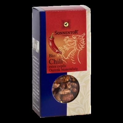 Sonnentor Bio Chili extra csípős - egész 25g