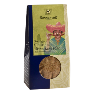 Sonnentor Bio Rodriguez Chilis bab fűszerkeverék 40g