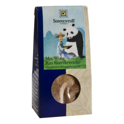 Sonnentor Bio Mrs Wong fűszerkeveréke rízshez 40g