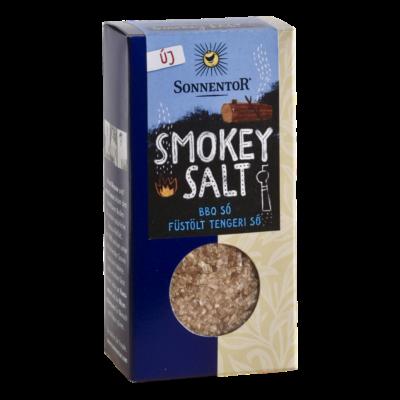 Sonnentor Bio Smokey Salt füstölt tengeri BBQ só 150g