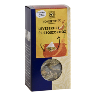 Sonnentor Bio Fűszer piramis levesekhez, szószokhoz