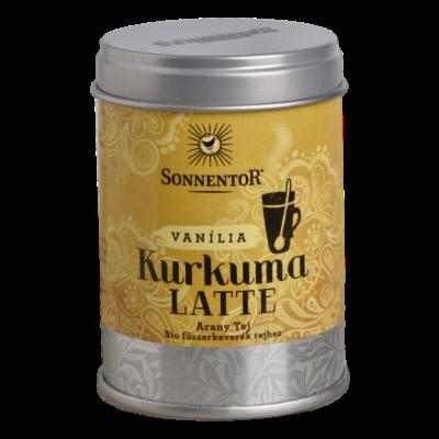 Sonnentor Bio Vaníliás Kurkuma-Latte - díszdobozban 60g