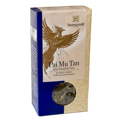 Sonnentor Bio Pai Mu Tan fehér tea - szálas 40g