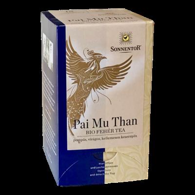 Sonnentor Bio Pai Mu Tan fehér tea - filteres 18g