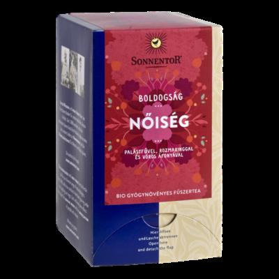 Sonnentor Bio Boldogság - Nőiség - herbál teakeverék - filteres 30,6g