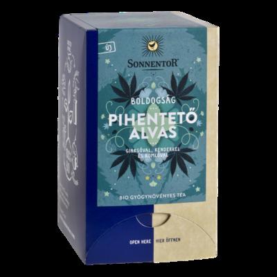 Sonnentor Bio Boldogság - Pihentető alvás - herbál teakeverék - filteres 27g
