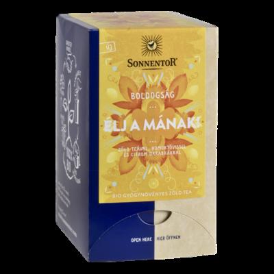 Sonnentor Bio Boldogság - Élj a mának! - herbál teakeverék - filteres 27g